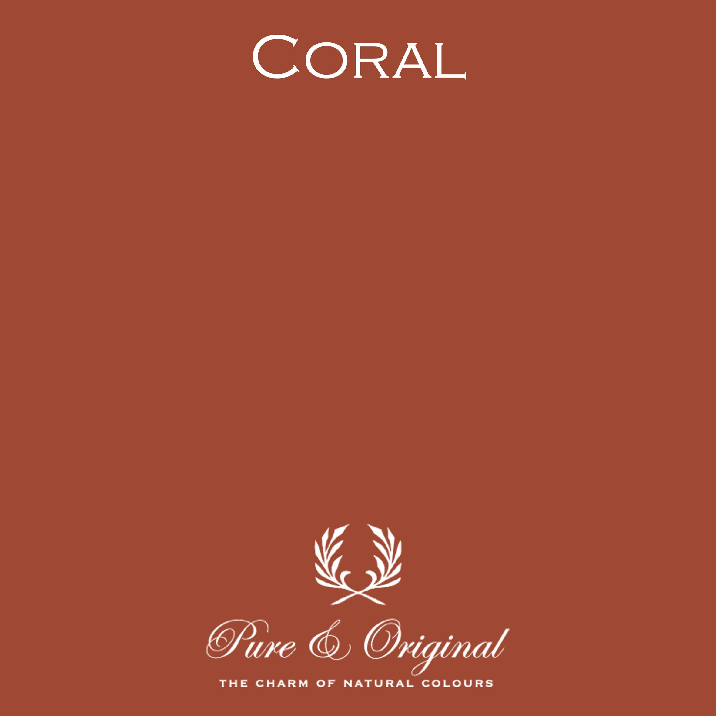 Pure & Original colour Coral