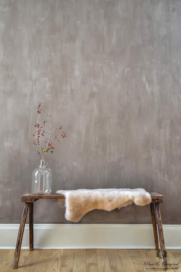 Fresco lime paint in the colour Drift