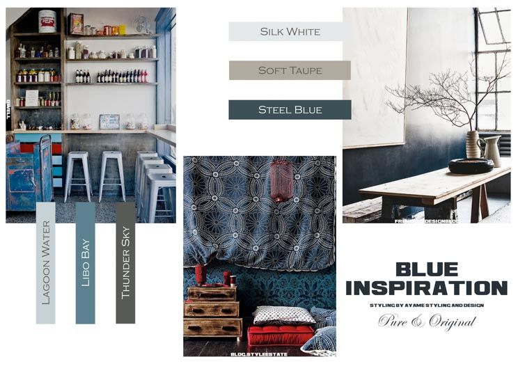 Blue Inspiration by Ayame styling & design