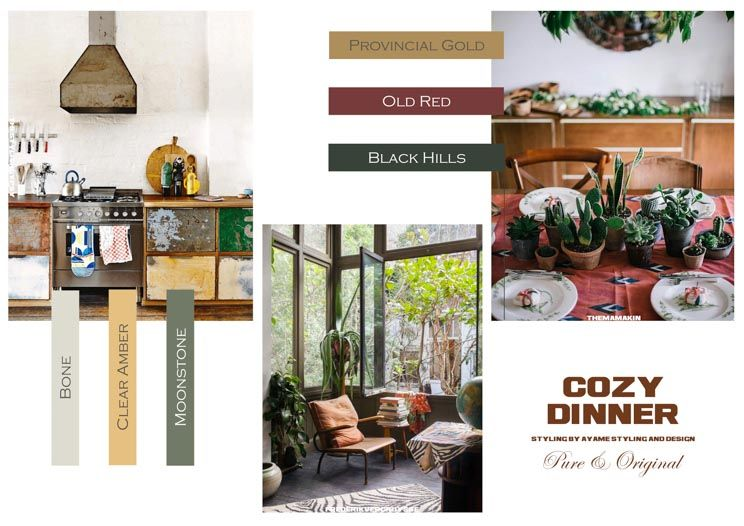 Cozy Dinner by Ayame styling & design
