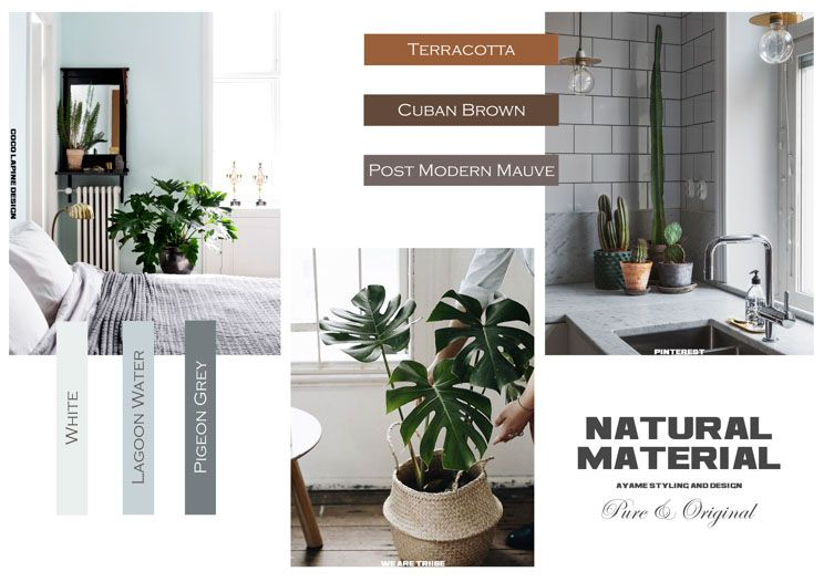 Natural Material by Ayame styling & design