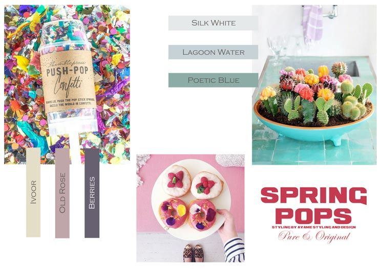 Spring Pops by Ayame styling & design