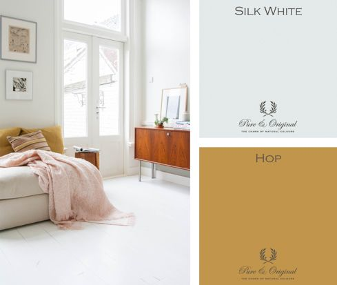 White and yellow inspiration by Femke Haanappel