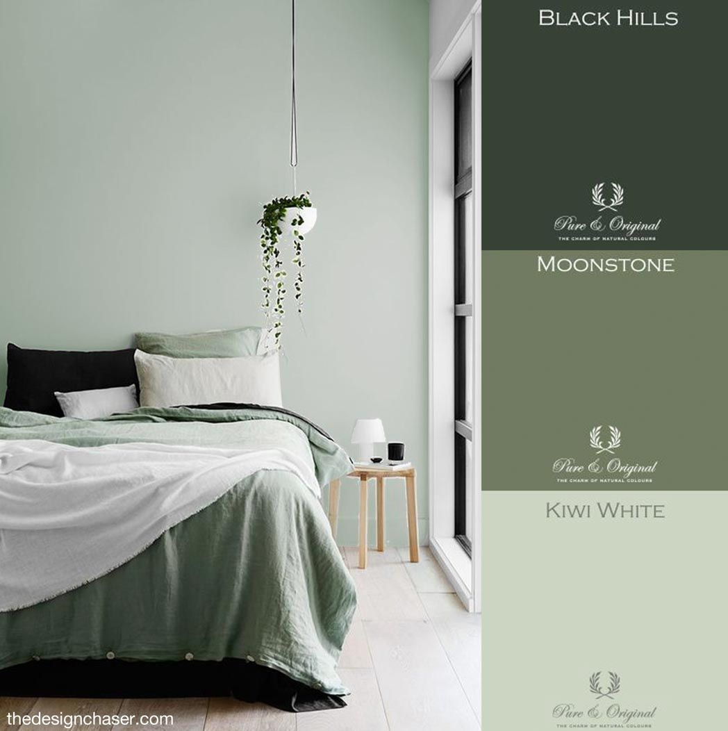 Green bedroom inspiration by Huys91