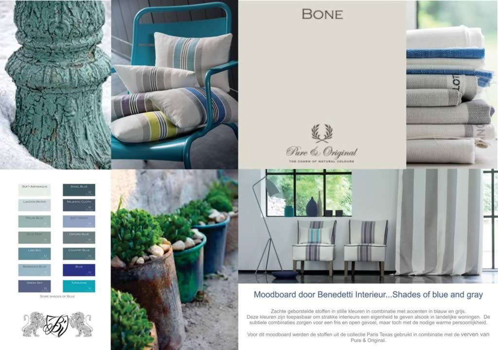 Shades of blue and gray by Benedetti