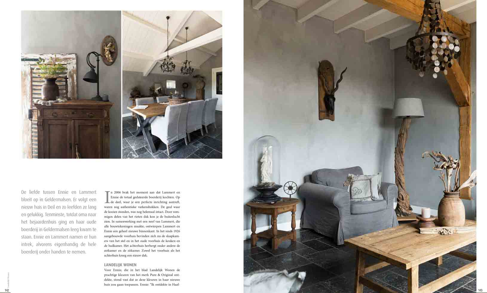 Look inside this beautiful country home