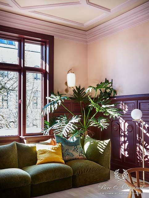 Article ELLE DECORATION online colourful apartment in Oslo