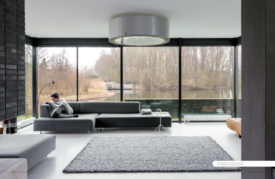 A modern home with a soul